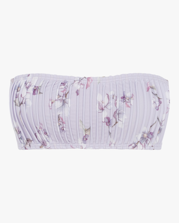 Blossom Pintuck Bandeau Bikini Top