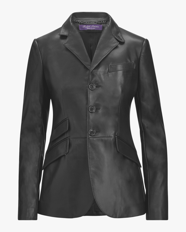 Leather Alastair Hacking Jacket