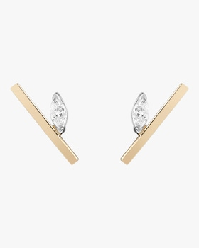 Defne Bar Stud Earrings