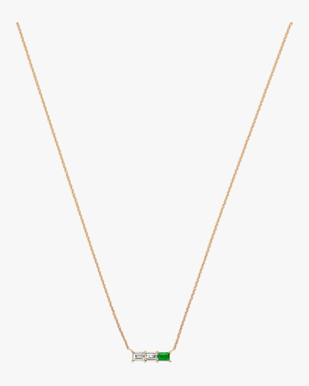 Rhea Emerald Necklace