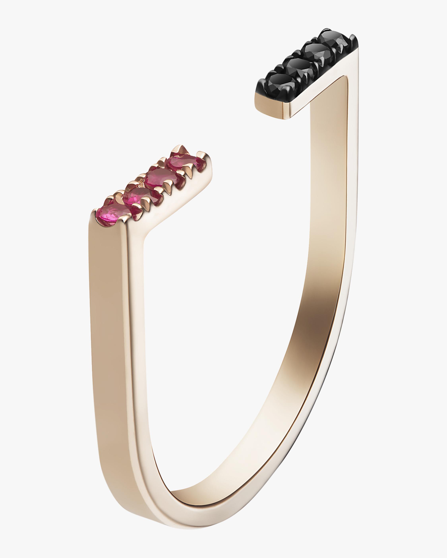 Selin Kent Black Diamond Anais Ring 2