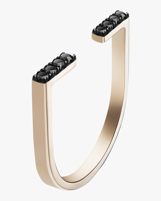 Selin Kent Black Diamond Anais Ring 0