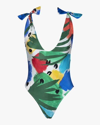 The Anderson Printed One Piece Swimsuit