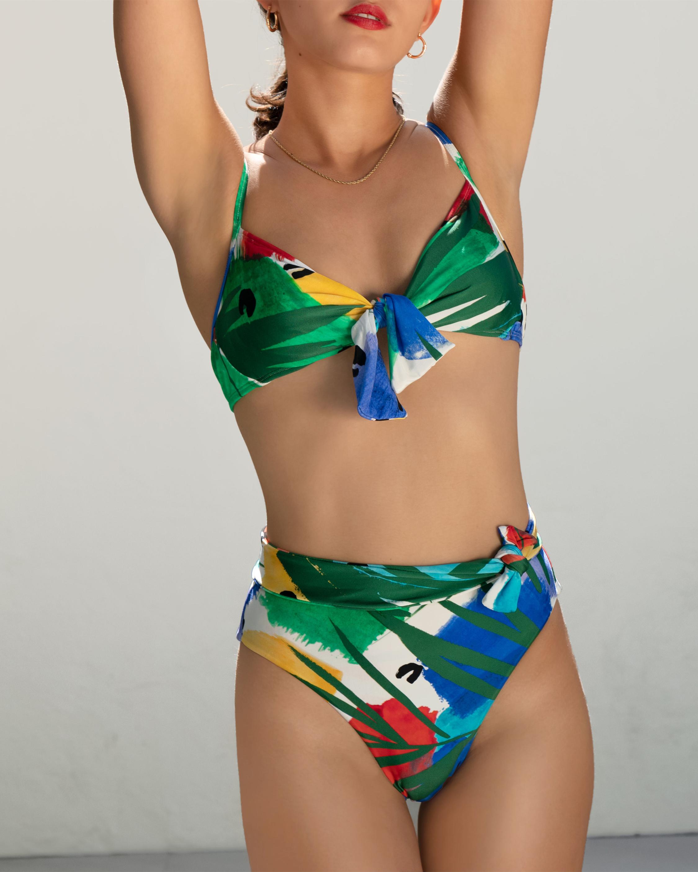 Sidway Swim The Judy Underwire Printed Bikini Top 1