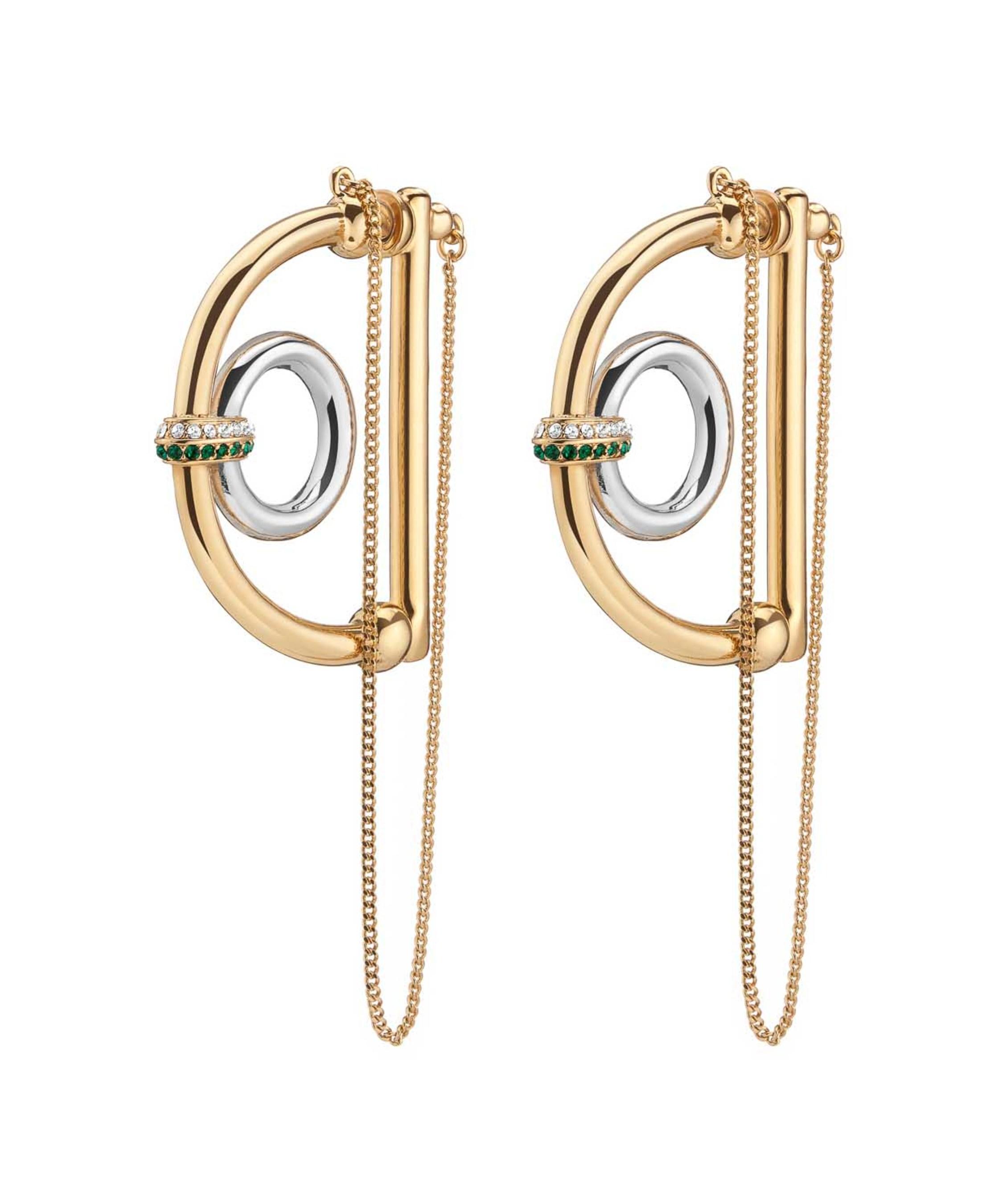 Dema D Hoop Earrings