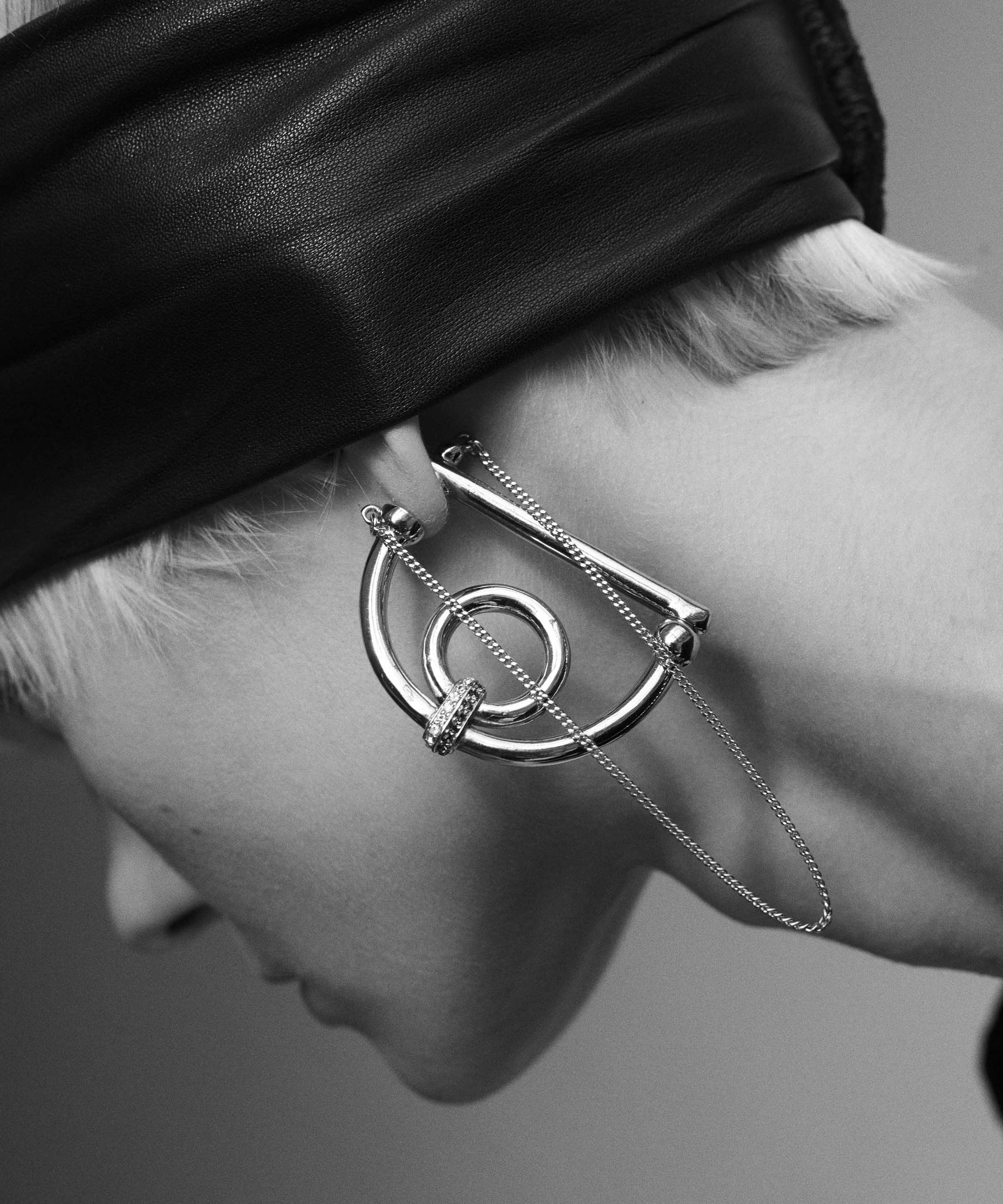Dema D Hoop Earrings Demarson