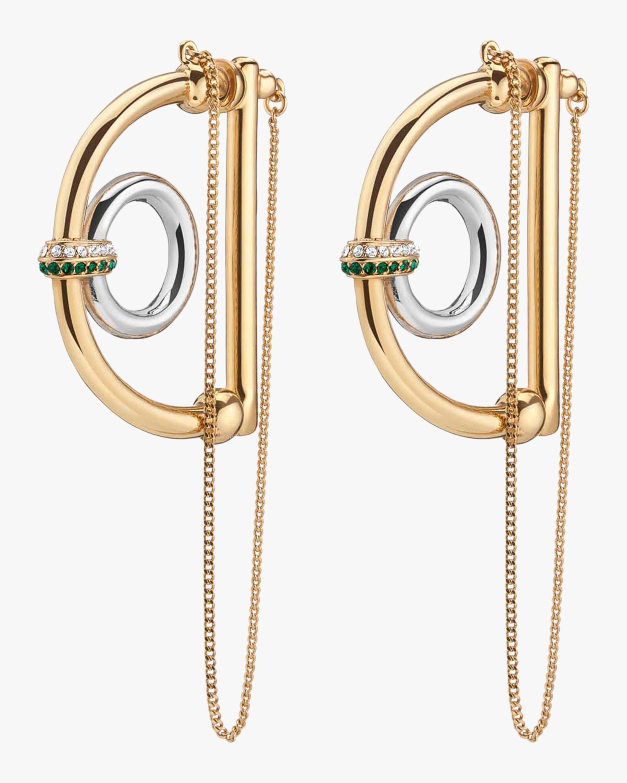 Demarson Dema D Hoop Earrings 0