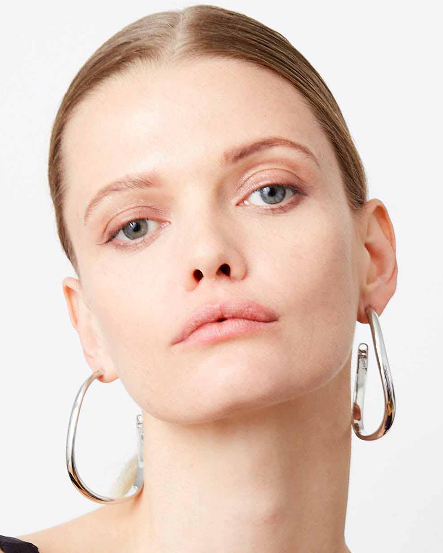 Demarson Calypso Curve Hoop Earrings 2