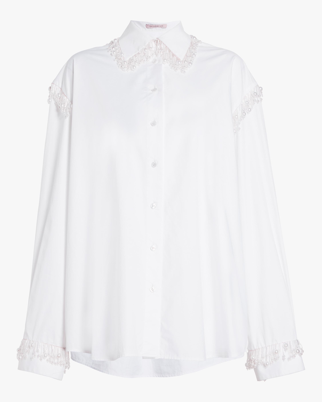 Pearl Cotton Poplin Shirt