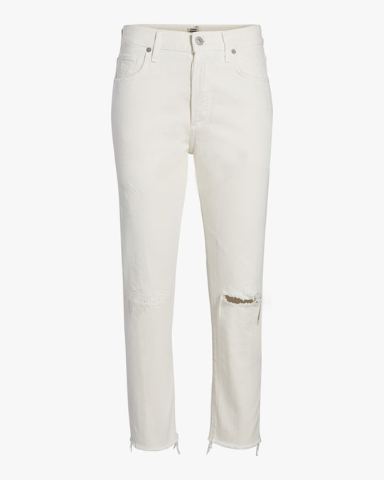 Citizens of Humanity Corey Crop Slouchy Slim Jeans 0