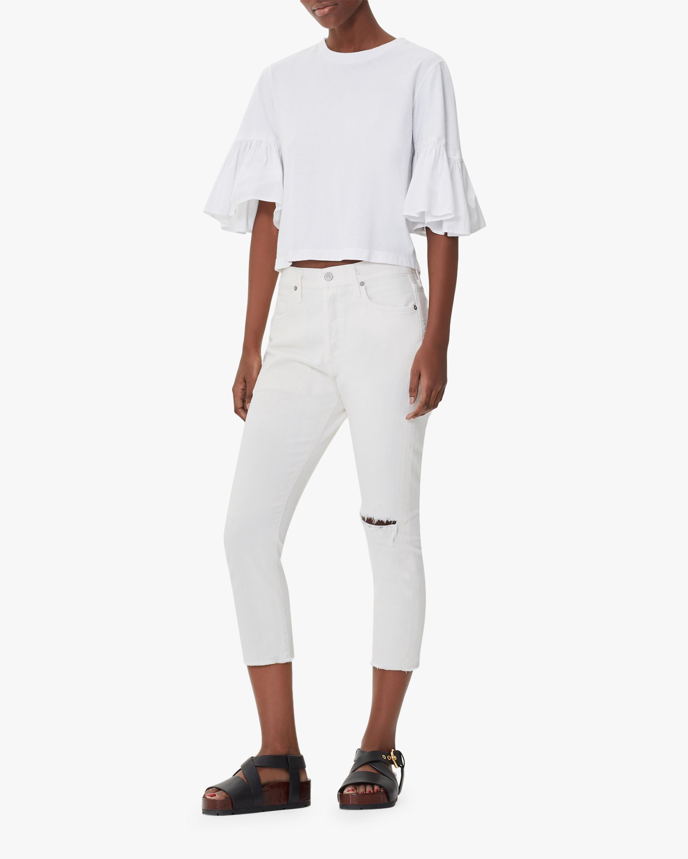 Corey Crop Slouchy Slim Jeans