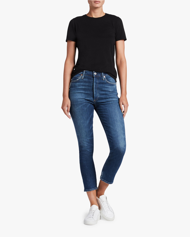 Olivia Crop High Rise Slim Jeans