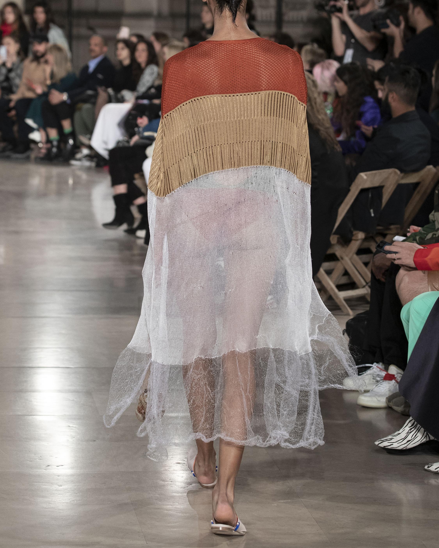 Knit Foam Crochet Kaftan