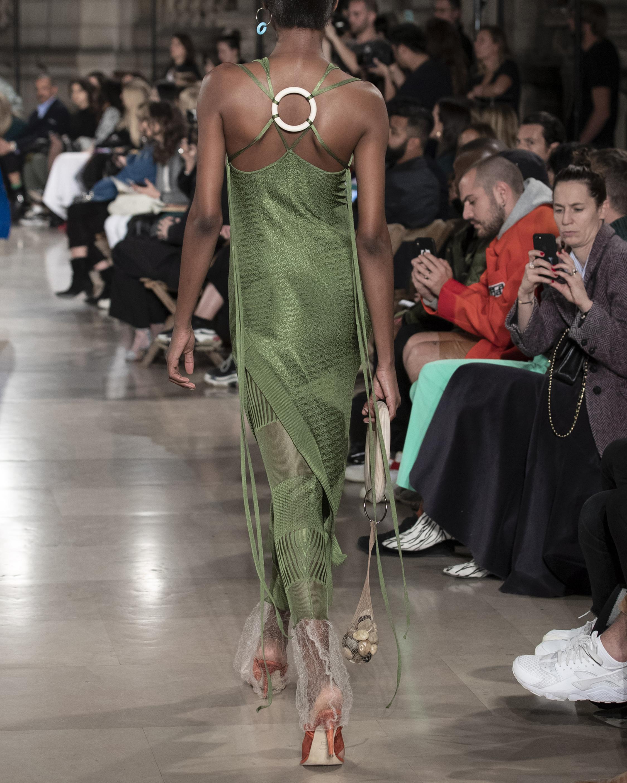 Knit Shoulder Tie Dress