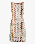 Missoni Multicolor Sleeveless Mini Dress 0