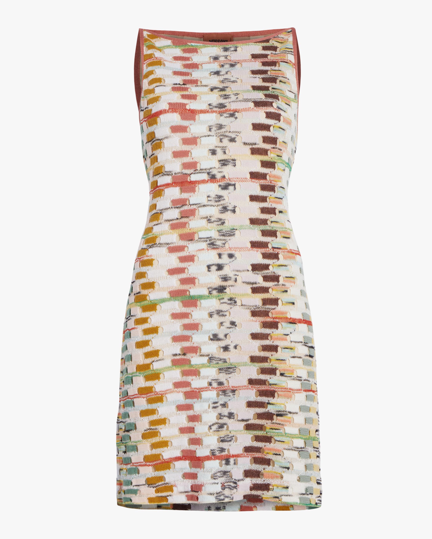 Missoni Multicolor Sleeveless Mini Dress 1
