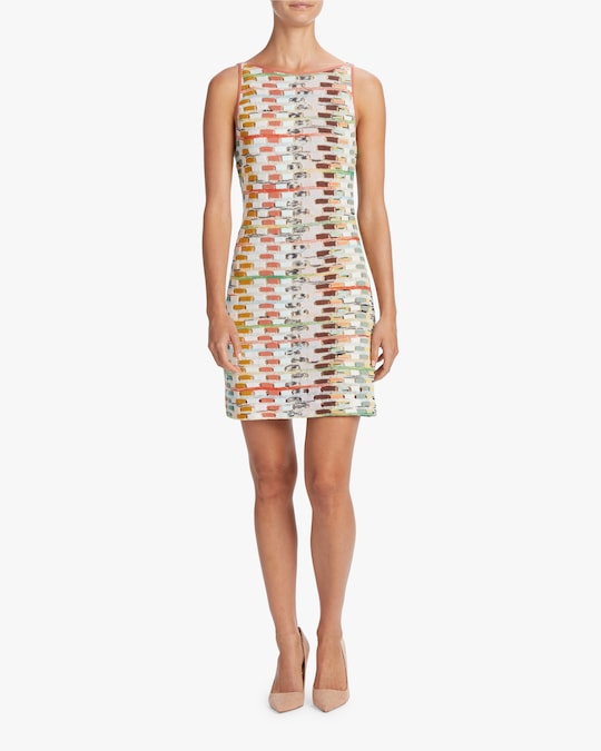 Missoni Multicolor Sleeveless Mini Dress 1