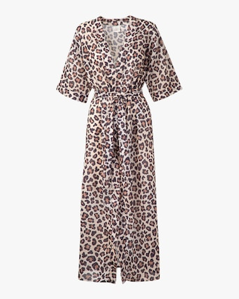 Leopard Printed Cover Up