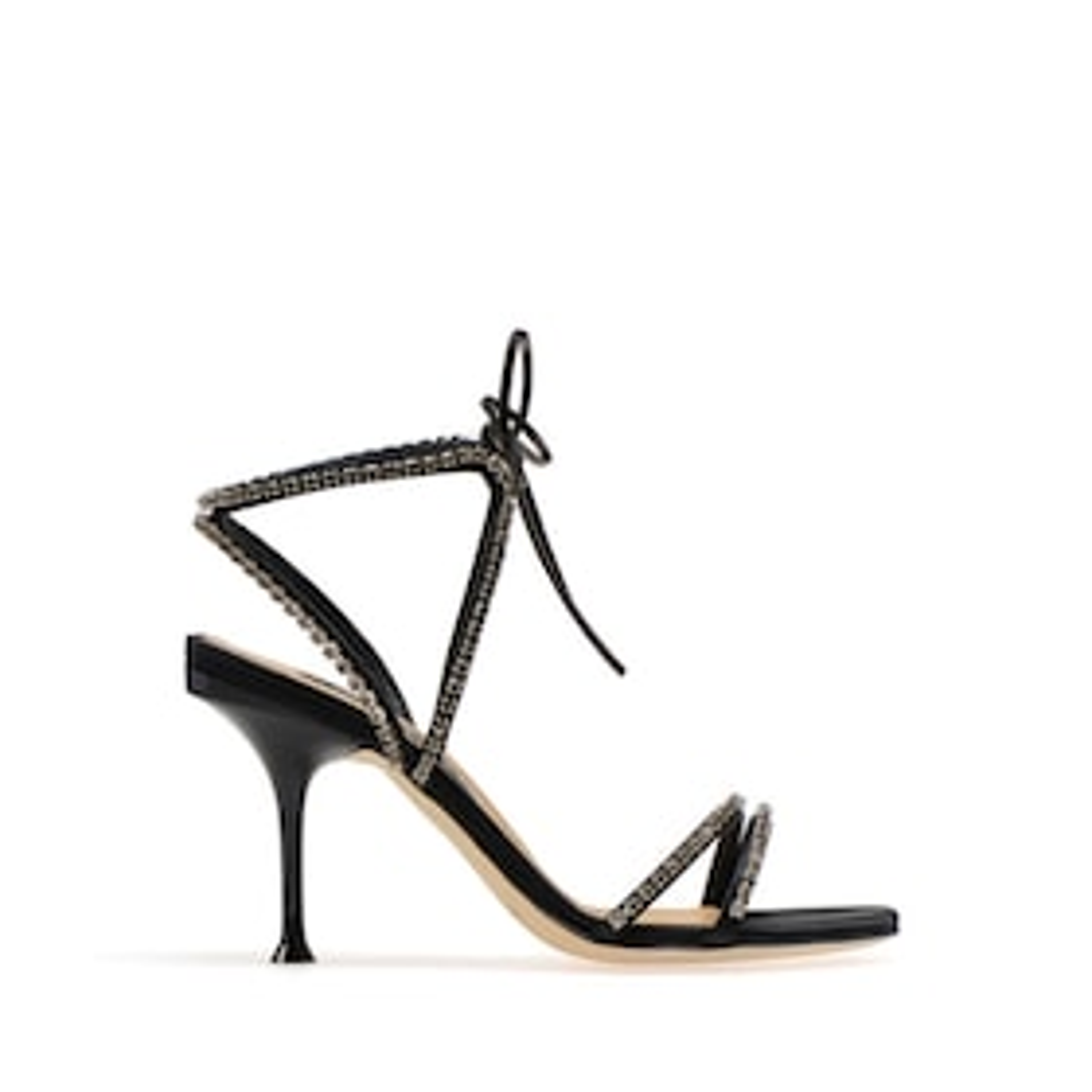 SR Milano Diamonds Strappy Heel