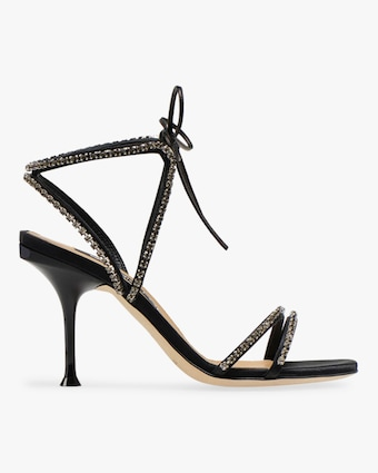 SR Milano Diamonds Strappy Heel