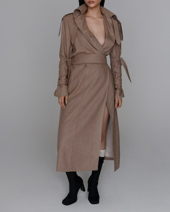 aaizél Lamar Trench Coat 2