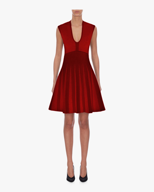 Sleeveless A-Line Mini Dress
