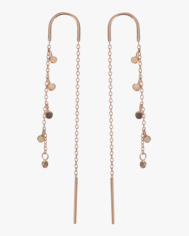 Fairy Bead Thread Through Earrings