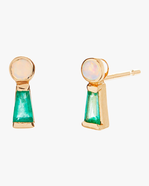 SCOSHA Keyhole Stud Earrings 2