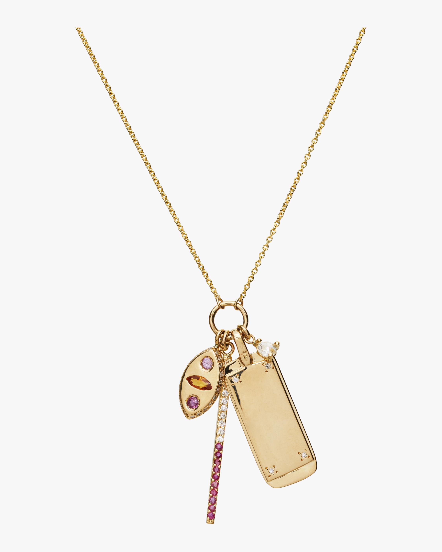 Makeda Charm Necklace