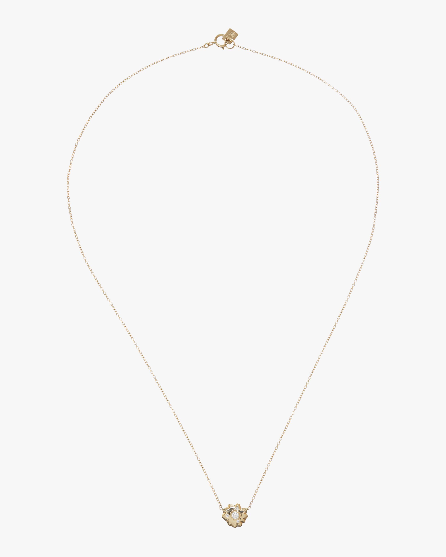 Tiny Sunburst Necklace