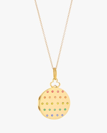 Devon Woodhill Rainbow Jane Small Locket 1