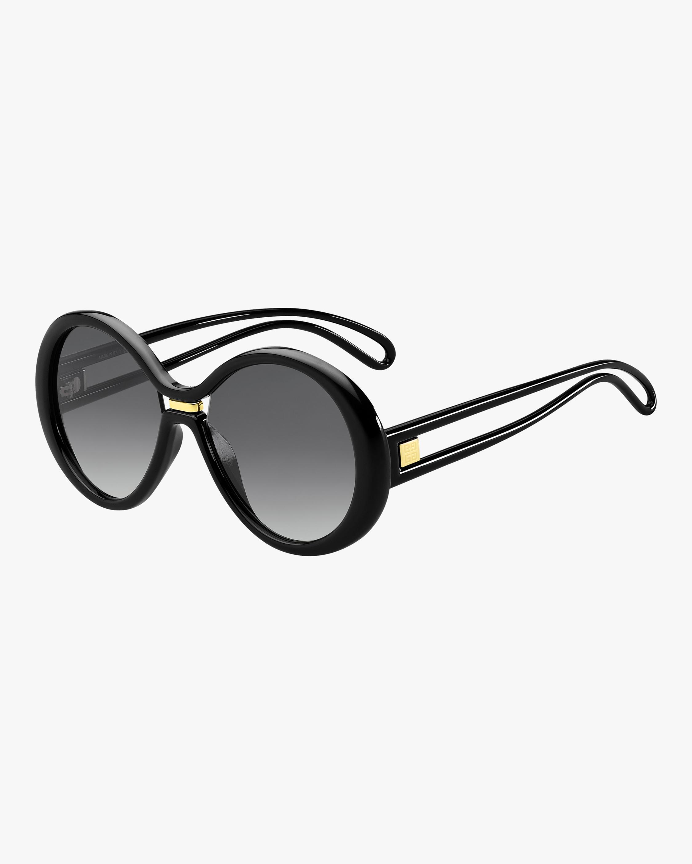 Givenchy Round Cutout Sunglasses 1