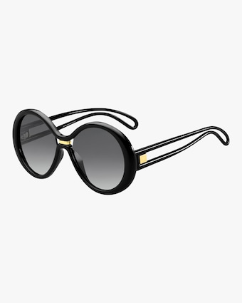 Givenchy Round Cutout Sunglasses 1