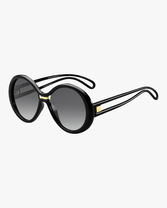 Givenchy Round Cutout Sunglasses 0