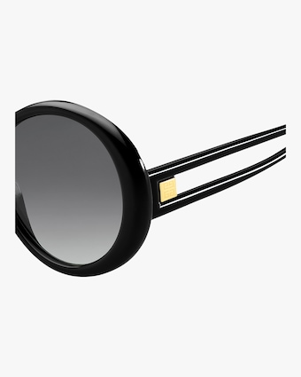 Round Cutout Sunglasses