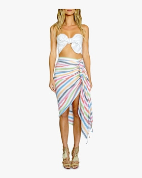 Tulum Rainbow Cover Up Skirt
