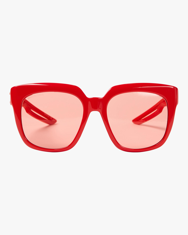 Oversize Square Acetate Sunglasses