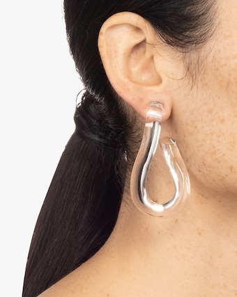 Sculptural Post Earrings
