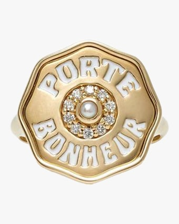 Marlo Laz Je Porte Bonheur Coin Ring 2