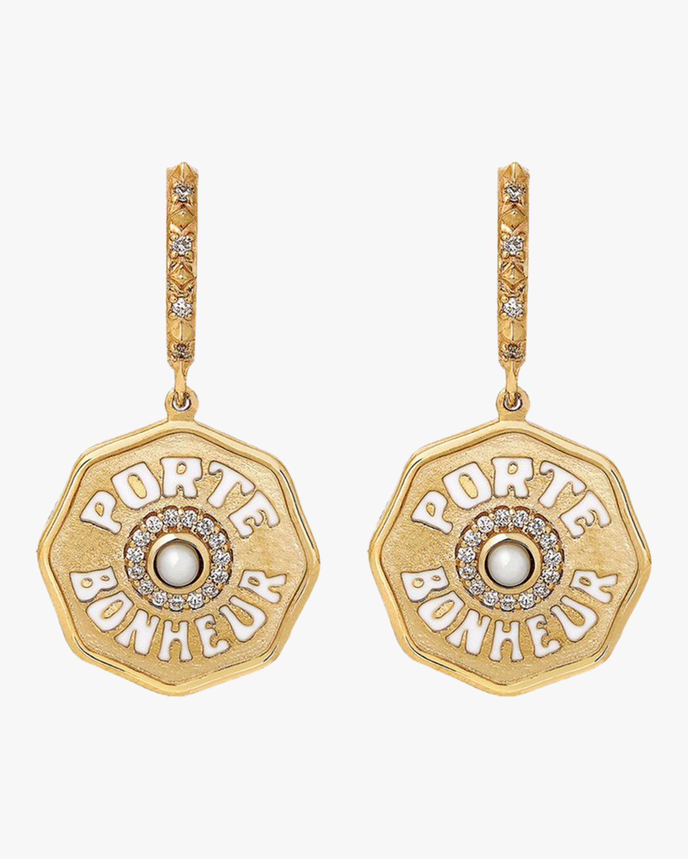 Marlo Laz Porte Bonheur Earrings 2