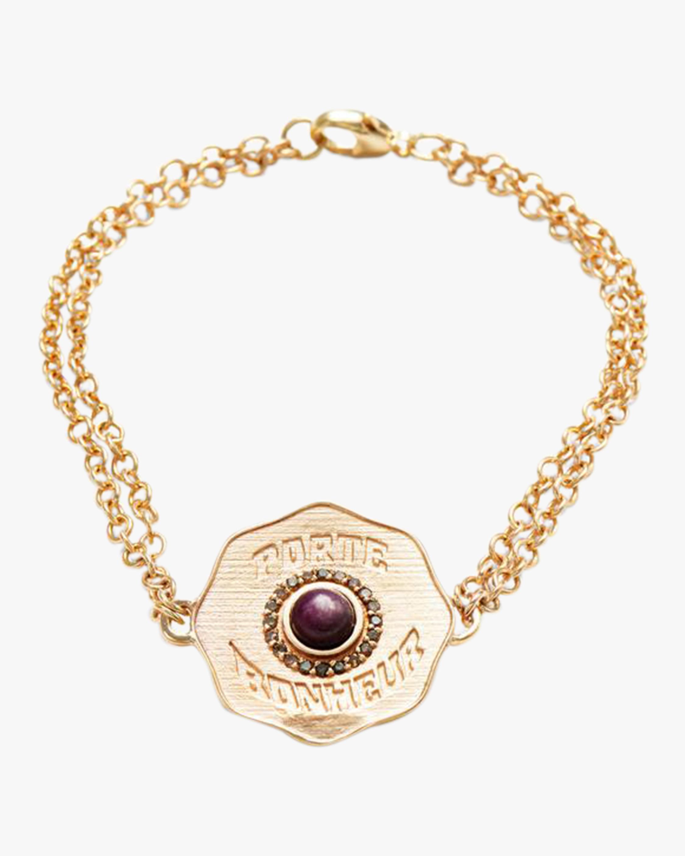 Marlo Laz Porte Bonheur Coin Bracelet 2