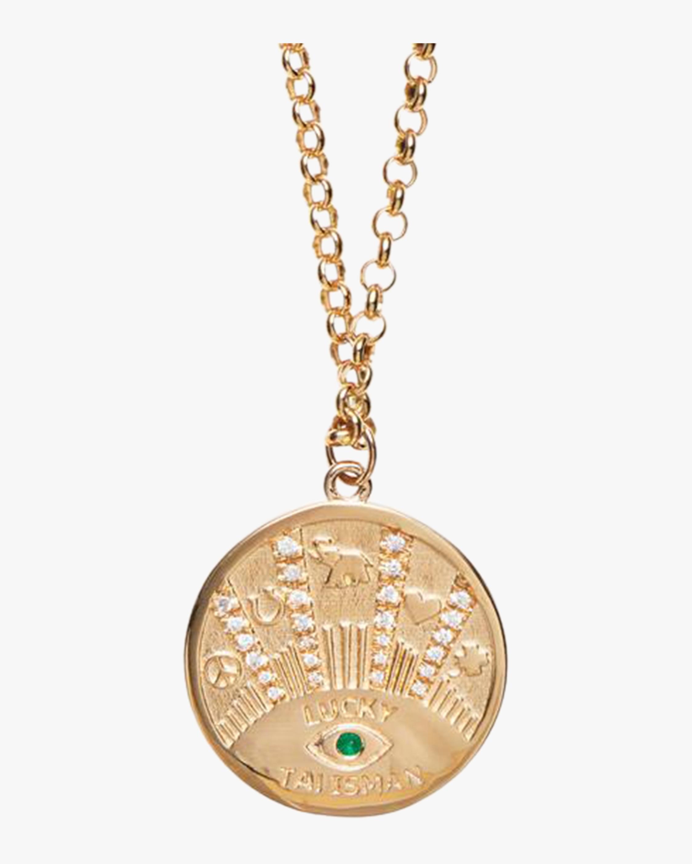 Marlo Laz Talisman Coin Necklace 1