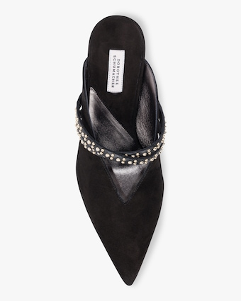 Simple Seduction Stud Strap Pump