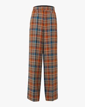 Charismatic Check Wide Leg Pants