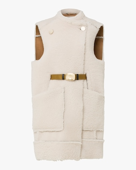 Curly Layer Shearling Vest