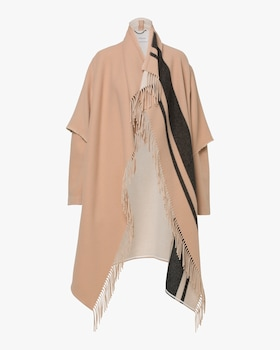 Fringy Volume Coat