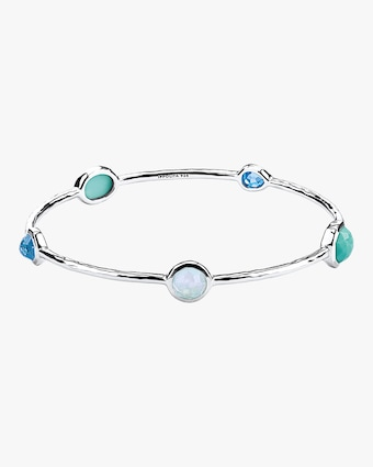 Rock Candy Waterfall 5-Stone Bangle
