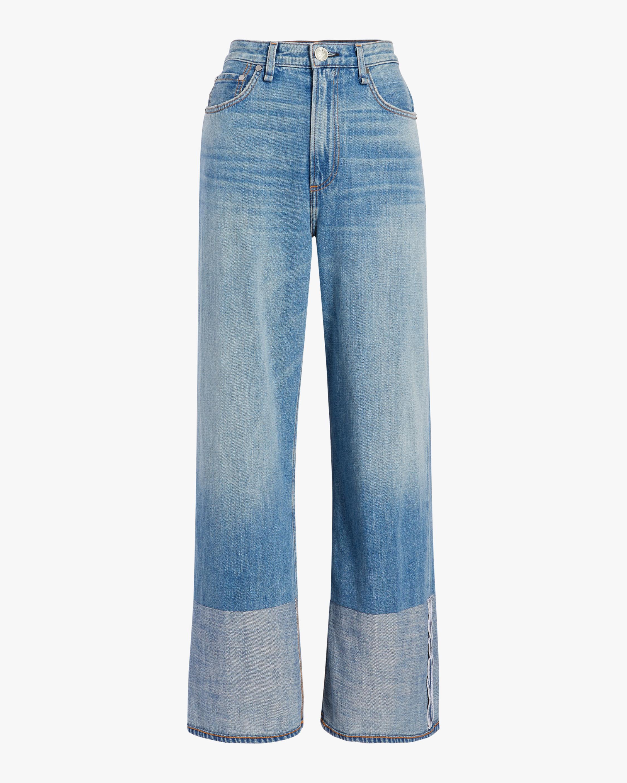 rag & bone Ruth Super High-Rise Wide Leg Jean 0