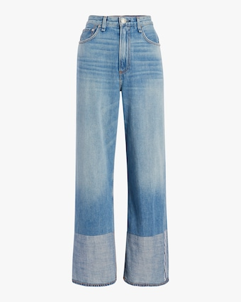 rag & bone Ruth Super High-Rise Wide Leg Jean 1