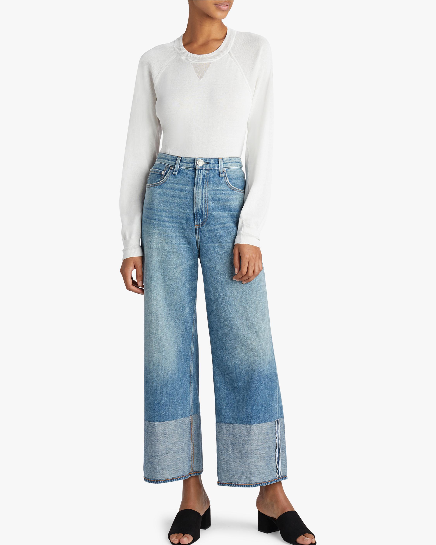 rag & bone Ruth Super High-Rise Wide Leg Jean 1